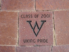 Class of 2001 paver