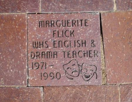 Marguerite Flick paver